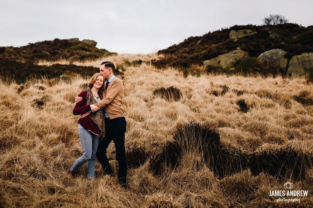 Staffordshire wedding photography engagement shoot