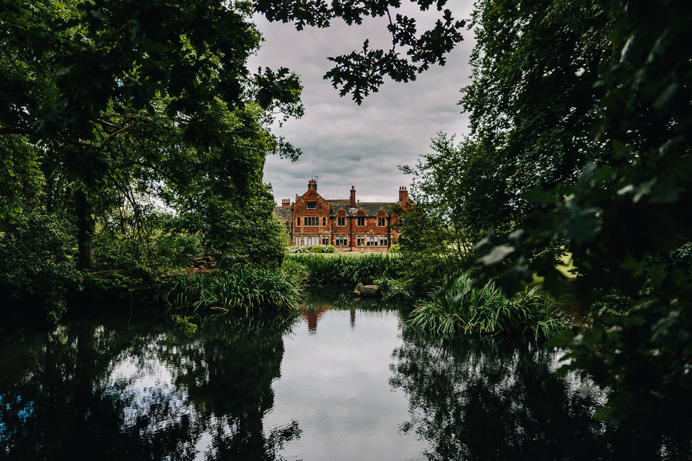 Venue picture of Colshaw hall across the lake