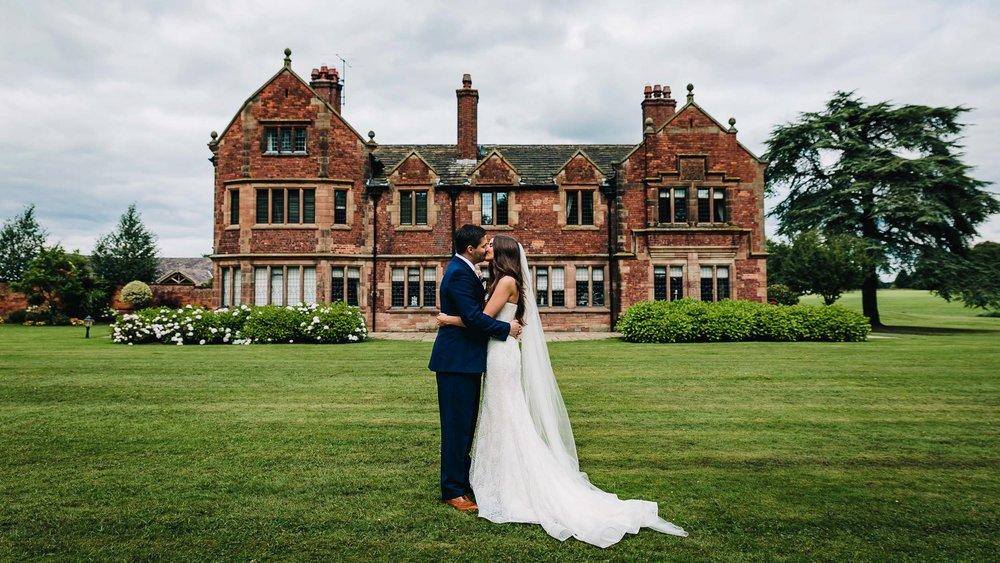 Colshaw Hall Cheshire Wedding Photographer