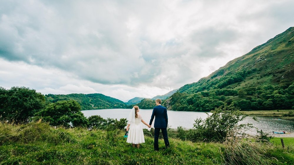 MOUNTAIN WEDDING NORTH WALES PHOTOGRAPHY