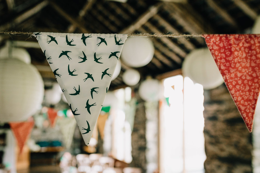 DIY WEDDING BUNTING WITH WILDLIFE AND ANIMAL THEME