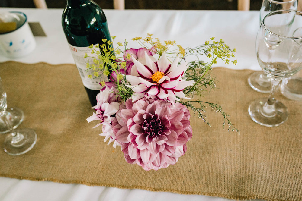 BEAUTIFUL FLOWERS AT RECEPTION BY HEN DY GARDEN FLOWERS
