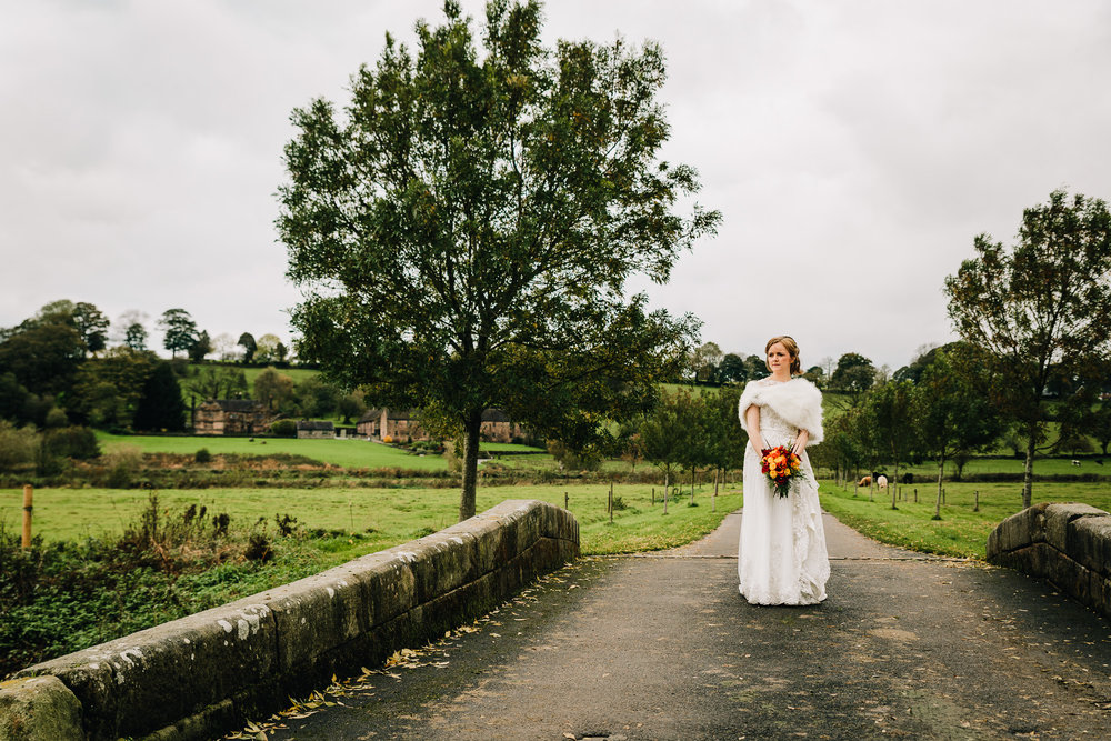 STUNNING BRIDE AT THE ASHES WEDDING BARNS AND COUNTRY HOUSE VENUE