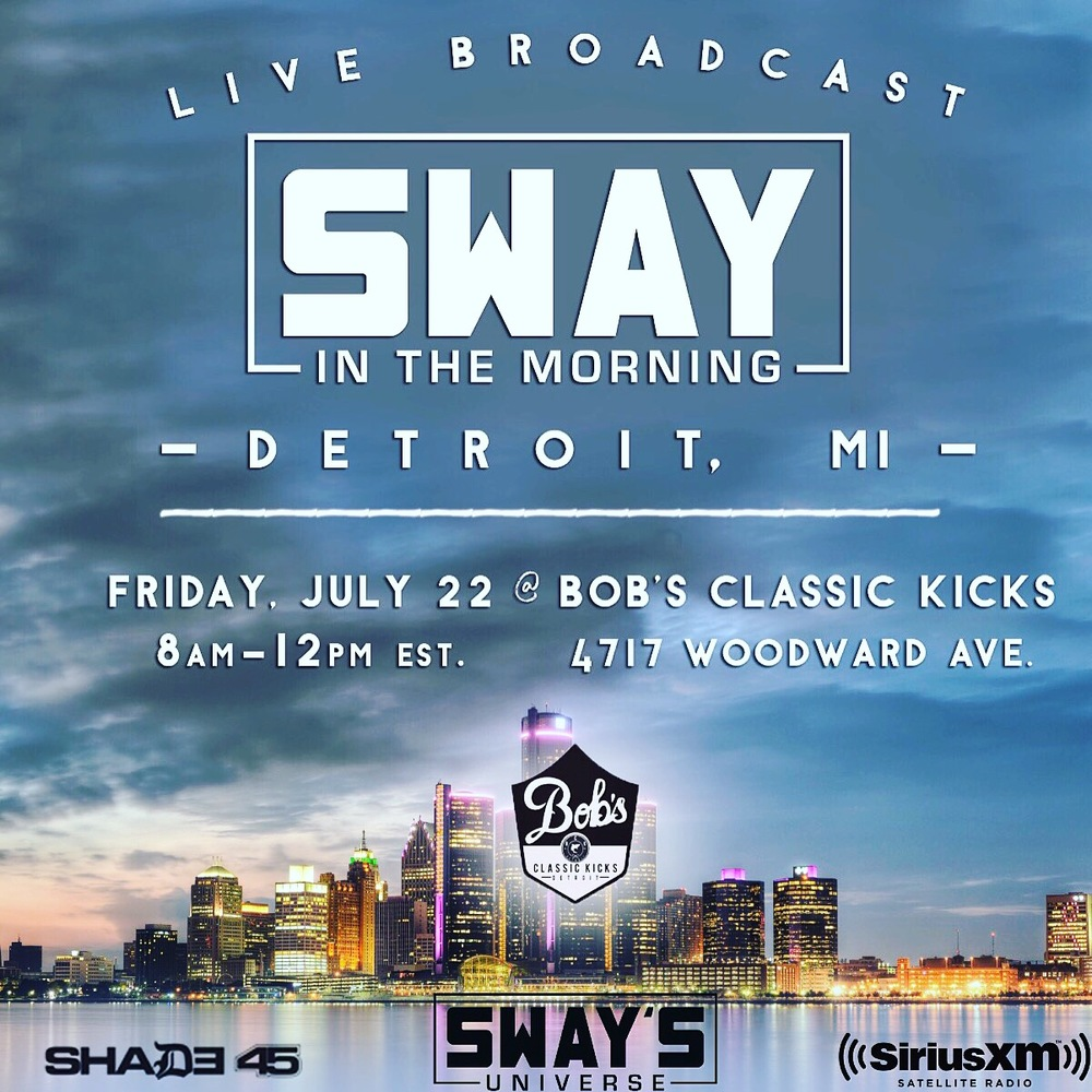 SWAY IN THE MORNING BROADCASTING LIVE