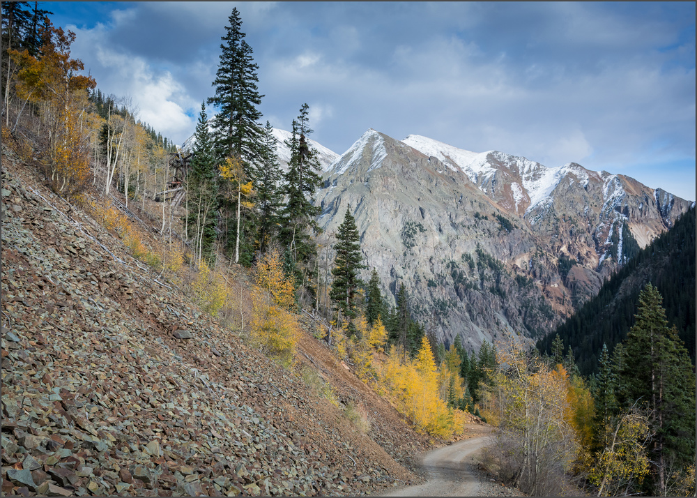 A Road to Silverton, Colorado