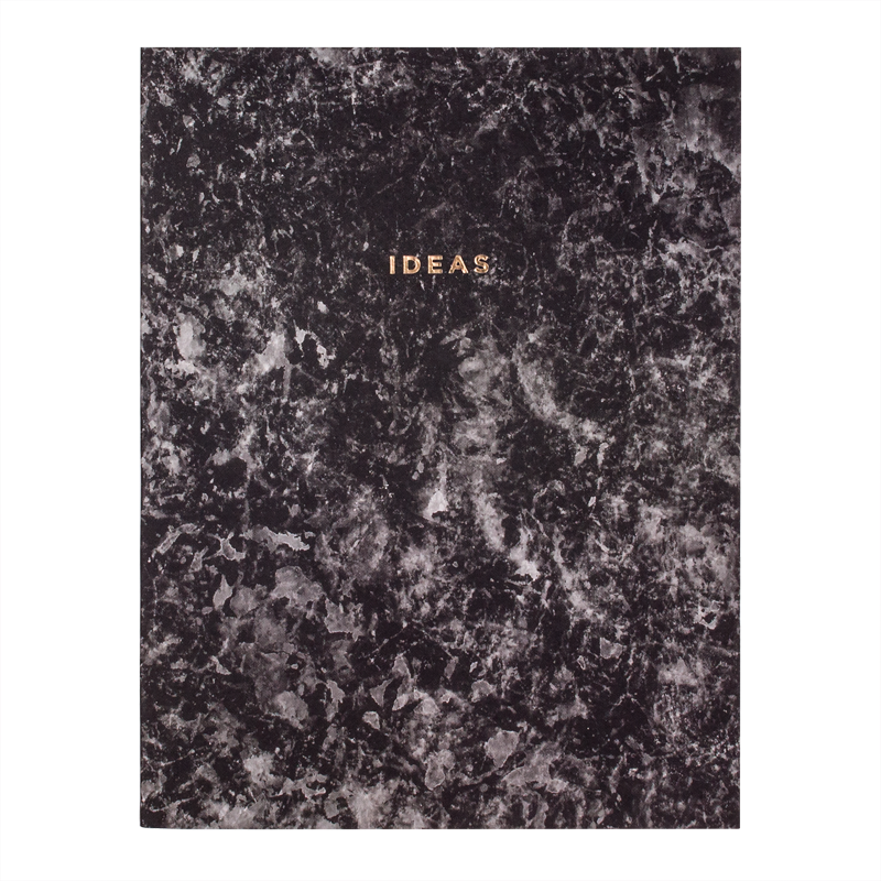 $14.99 IDEAS MARBLED NOTEBOOK