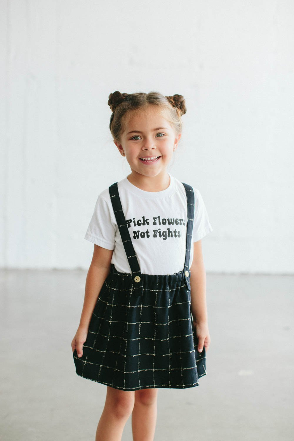 $24.99 PICK FLOWERS NOT FIGHTS KID'S T-SHIRT