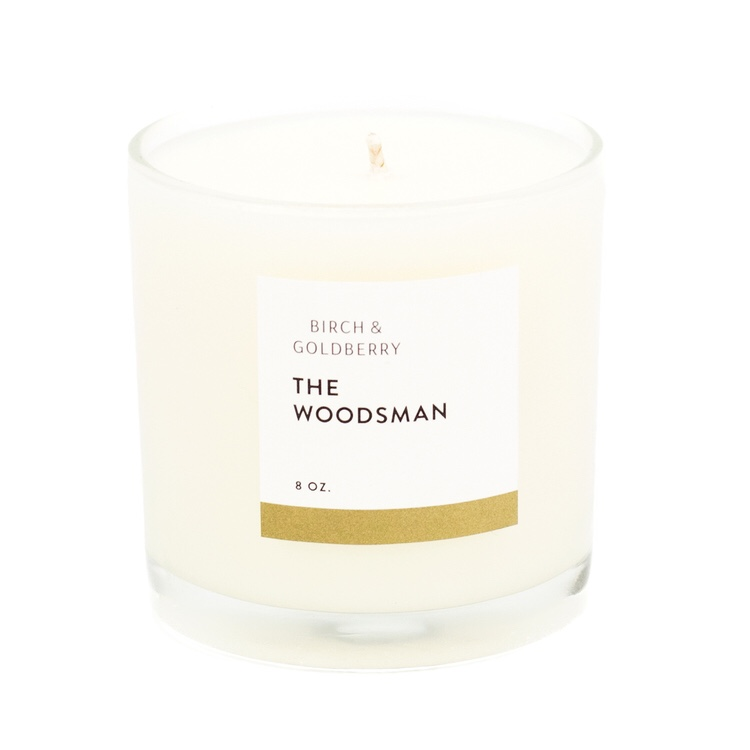$27.99 THE WOODSMAN SOY CANDLE