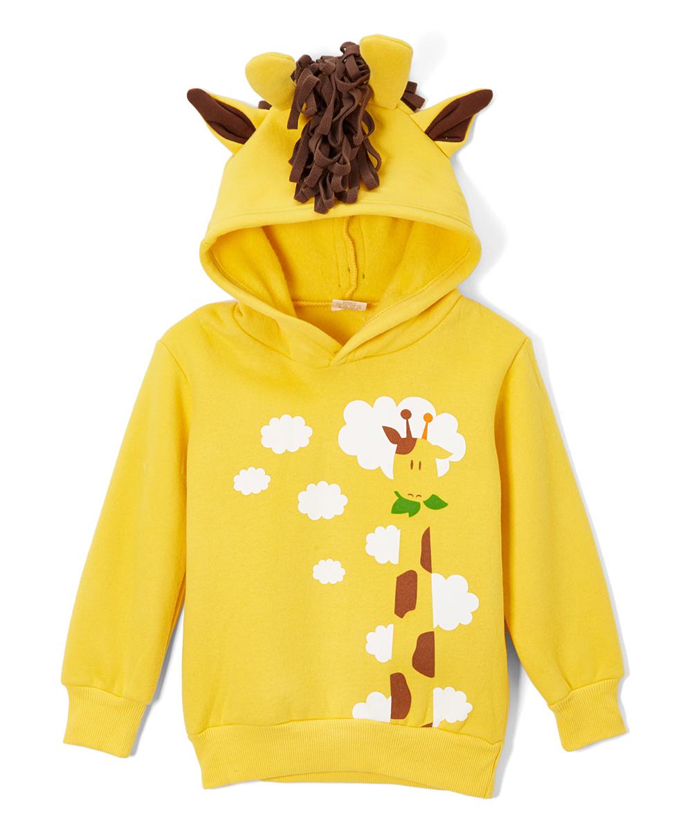 $39.99 GIRAFFE 3-D HOODIE FOR KIDS