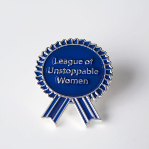 $10.99 LEAGUE OF UNSTOPPABLE WOMEN PIN