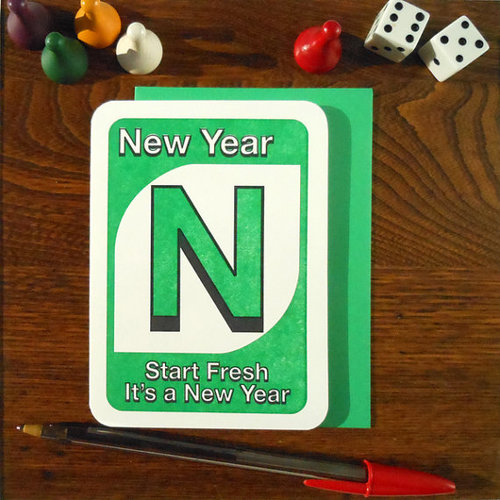 $4.49 UNO NEW YEAR CARD