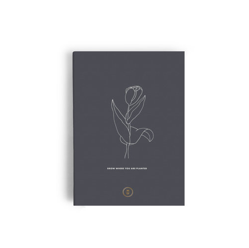 $15.99 GROW WHERE YOU ARE PLANTED NOTEBOOK