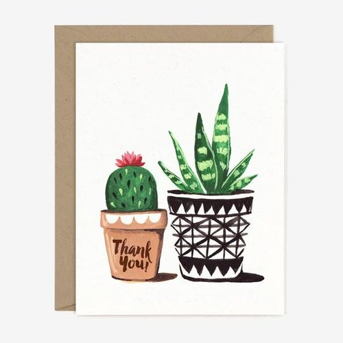 $4.49 THANK YOU PLANTS CARD
