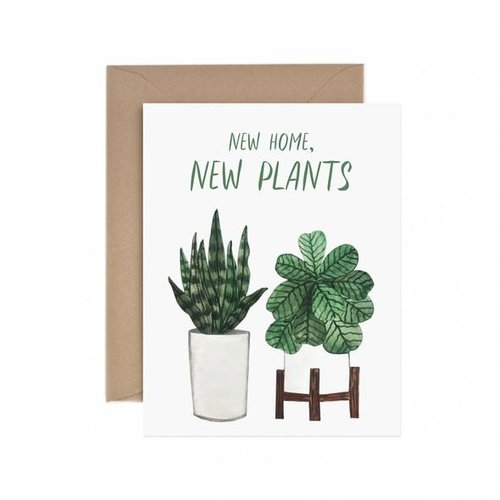 $4.49 NEW HOME, NEW PLANTS CARD