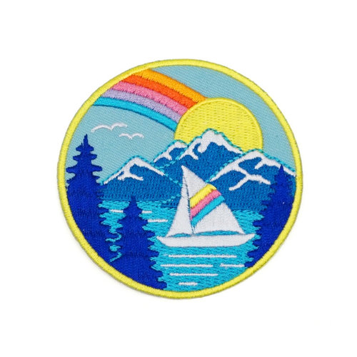 $5.99 TAHOE EMBROIDERED PATCH