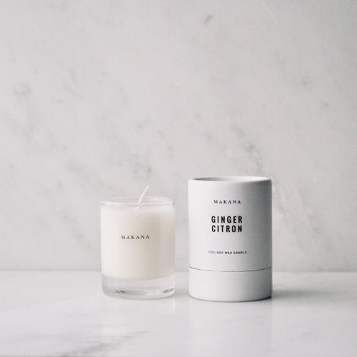 $11.99 GINGER CITRON PETITE SOY CANDLE