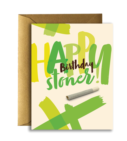$4.99 HAPPY BIRTHDAY STONER CARD
