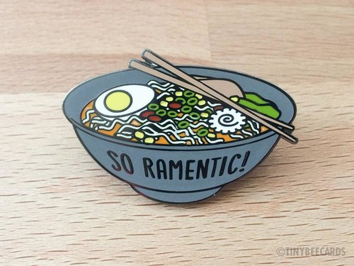 $13.99 SO RAMENTIC PIN