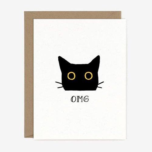 $4.49 OMG CAT GREETING CARD