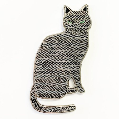 $11.99 BLACK CAT PIN
