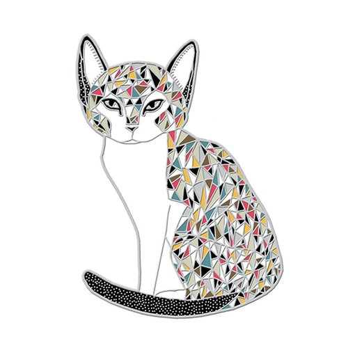 $11.99 CALICO CAT PIN