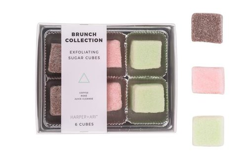 $11.99 EXFOLIATING SUGAR CUBES -- BRUNCH COLLECTION