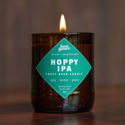 $23.99 HOPPY IPA CRAFT BEER SOY CANDLE