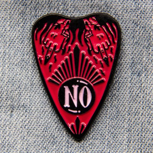 "$11.99 ""NO"" OUIJA PIN"