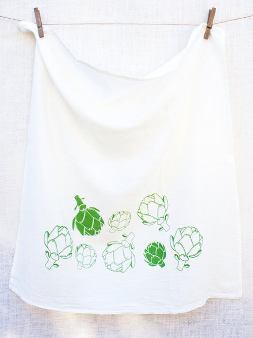 $14.99 ARTICHOKE KITCHEN TOWEL