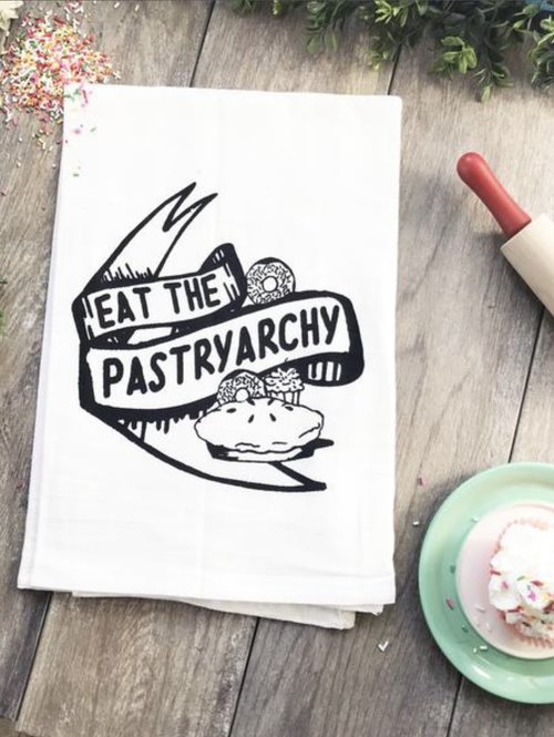 $11.99 EAT THE PASTRYARCHY KITCHEN TOWEL