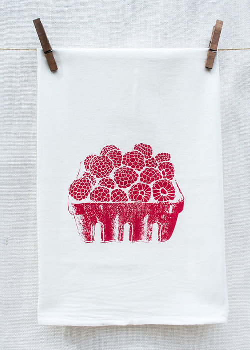 $14.99 RASPBERRY BASKET KITCHEN TOWEL