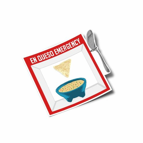$3.99 EN QUESO EMERGENCY STICKER