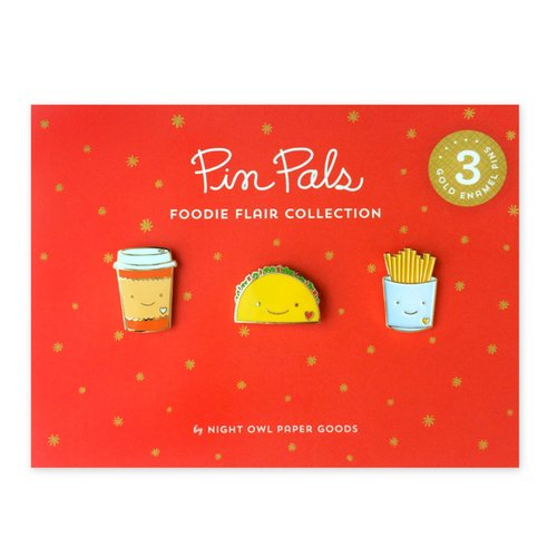 $23.99 FOODIE FLAIR PIN SET