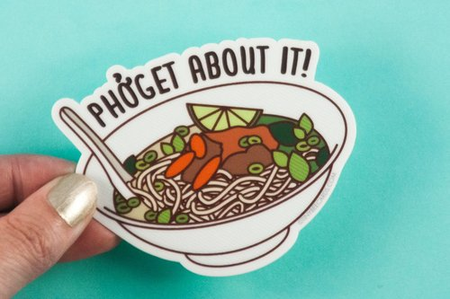 $2.99 PHOGET ABOUT IT STICKER