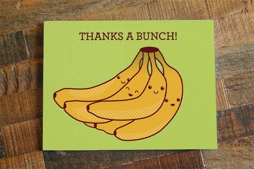 $4.49 THANKS A BUNCH BANANAS CARD
