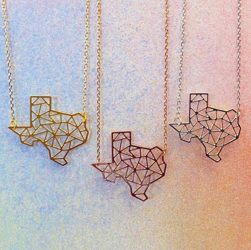 FROM $27.99 TEXAS NECKLACE