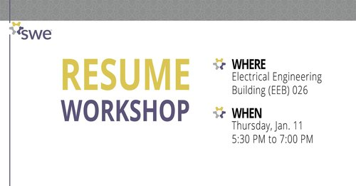 Resume Workshop — UW Society of Women Engineers