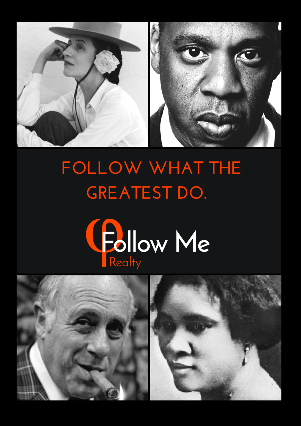 Follow what the greatest do