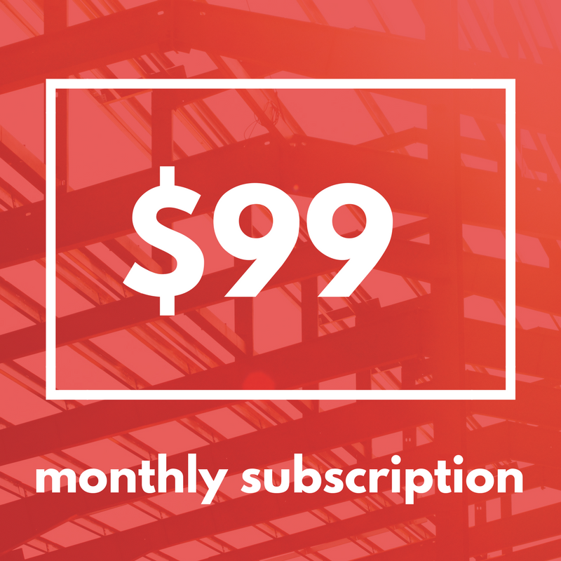 $99 Developing Agent Subscription -