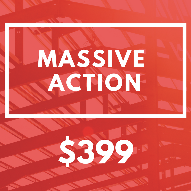 $399 Massive Action Subscription -