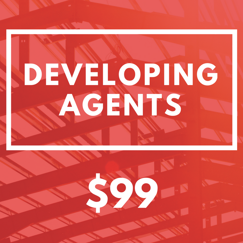$99 Developing Agents Subscription -