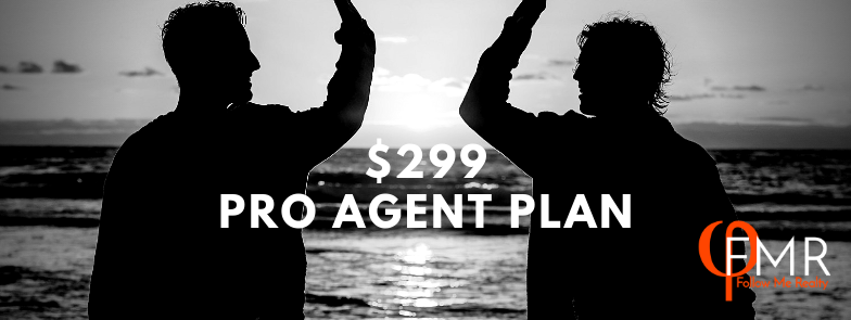 Pro Agent Plan - $299/ $450 flat fee per closing - click to join