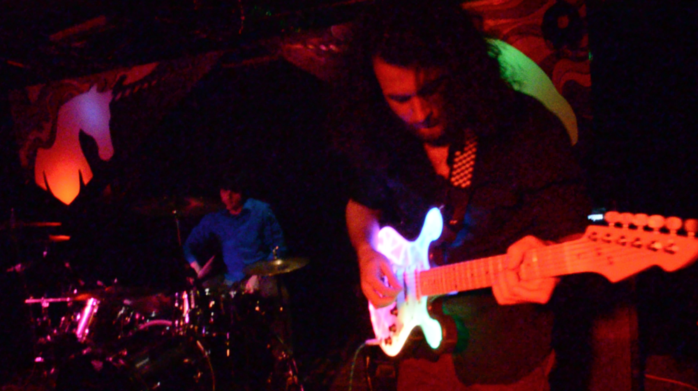 Anthony Peeples and Max Owen from The Matter Animatic - Live @ The Drunken Unicorn 05/07/15