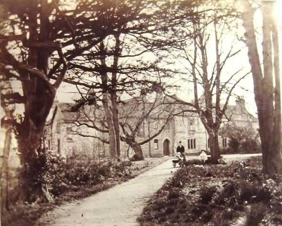 The Rectory - photograph courtesy of the Revd. Lloyd's family Photograph © Warren Lloyd