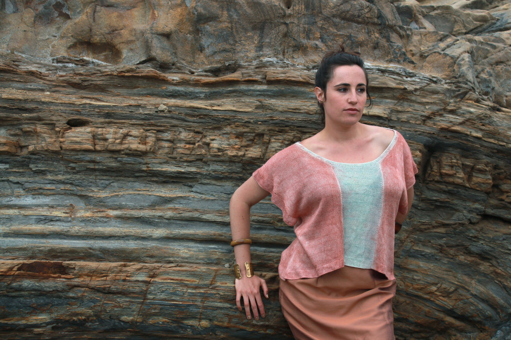 Silk Handmade Hand Dyed Natural Fiber Shirt from Myth of the West Bay Area Clothing Design Company