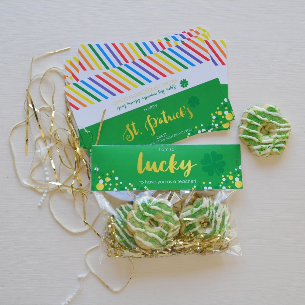 St. Patricks Day Bag Toppers