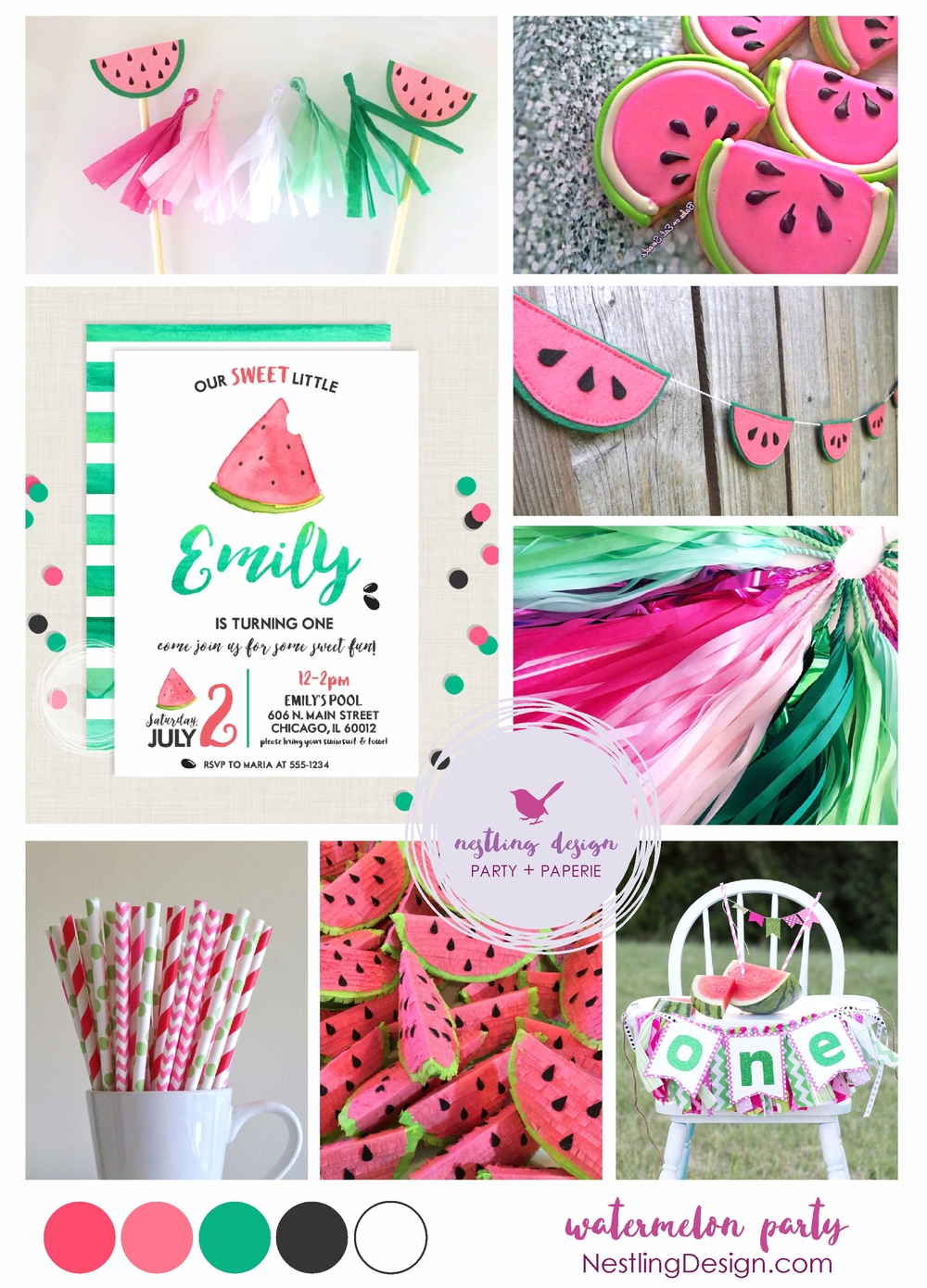 Nestling Design / Watermelon Party