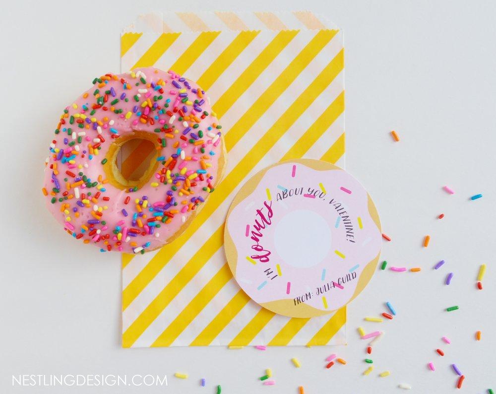 Donut Valentines