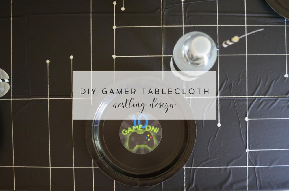 DIY Gaming Tablecloth