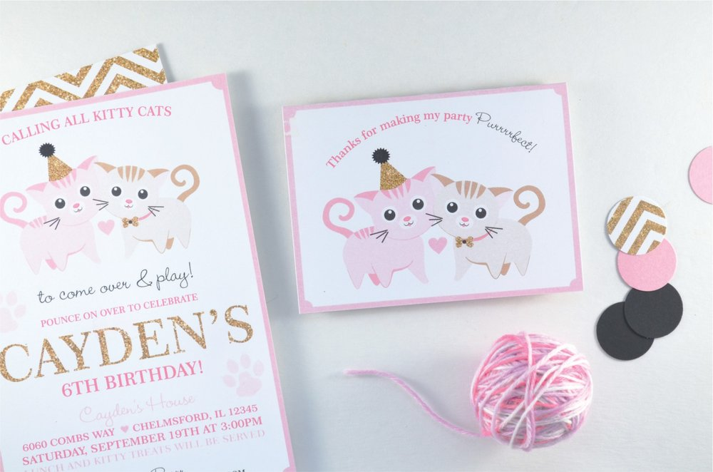 Kitty Cat Party | Nestling Design